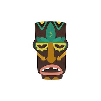 Античный идол значок. мультфильм значок античного идола для интернета на белом фоне