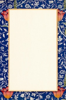 Cornice ornamentale antica william morris