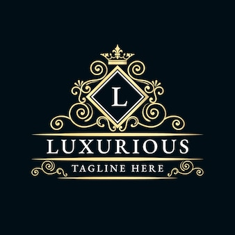 Antique retro luxury victorian calligraphic logo with ornamental frame suitable for barber wine carft beer shop spa salon boutique antique restaurant hotel resort classic royal brand