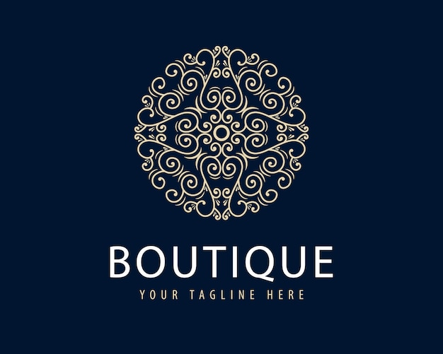 Antique retro luxury victorian calligraphic logo with ornamental frame suitable for barber wine craft beer shop spa beauty salon boutique antique restaurant hotel resort classic royal brand p