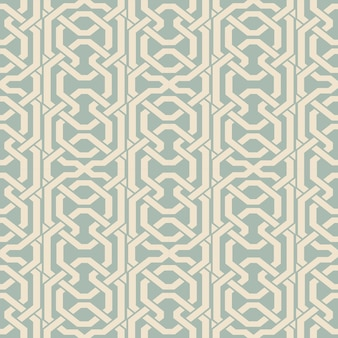 Antique seamless chain line pattern