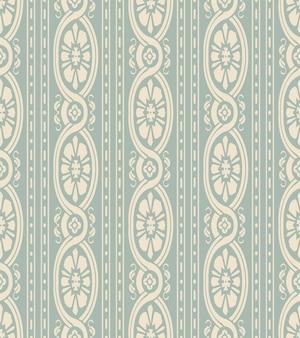 골동품 원활한 곡선 꽃 패턴