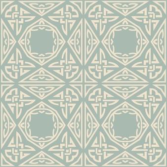 골동품 완벽 한 기하학적 패턴