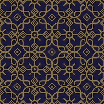골동품 원활한 패턴 곡선 체크 크로스 라운드 도트 라인 프레임 꽃