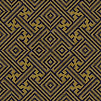 골동품 원활한 패턴 기하학 나선형 체크 크로스 트레이 서리