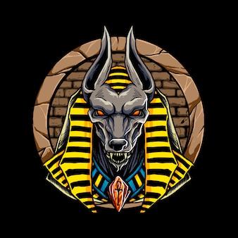 Anubis egypt mythological character