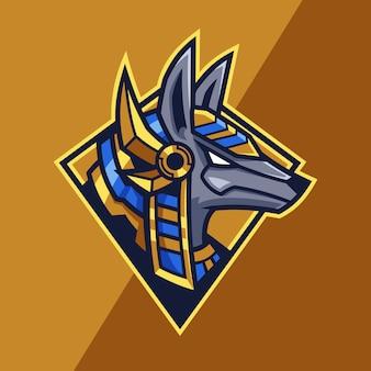 Логотип команды anubis esport
