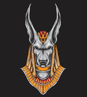 Anubis vector art