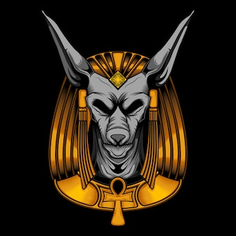 Anubis vector illustration