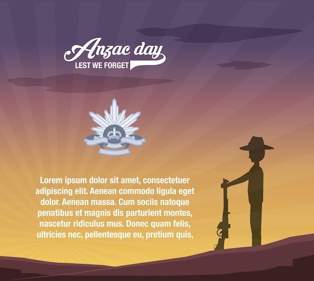 Anzac day infographic presentation