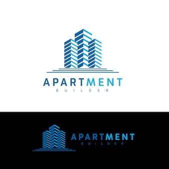 Apartment-real-estate-logo