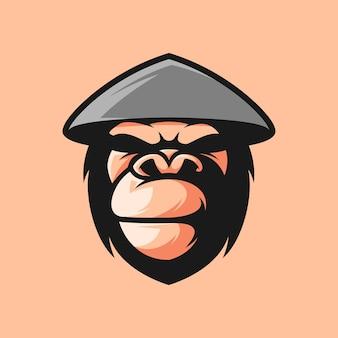 원숭이 마스코트 디자인