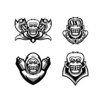 Ape mascot design