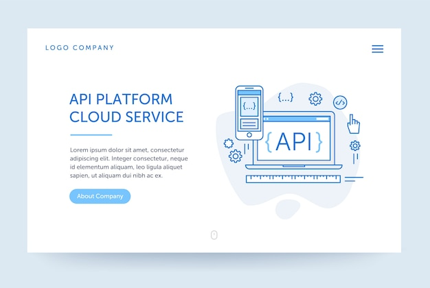Api platform illustration