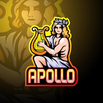 アポロeスポーツロゴマスコットデザイン