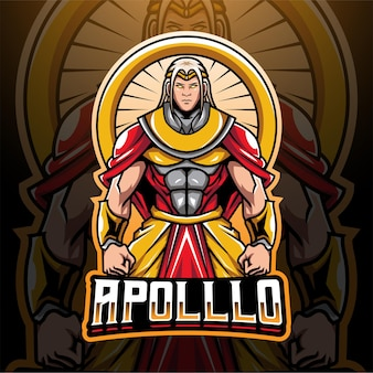 Apollo esport 마스코트 로고 디자인