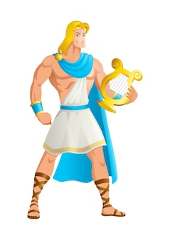 Apollo the god of music