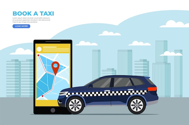 App concept for cab