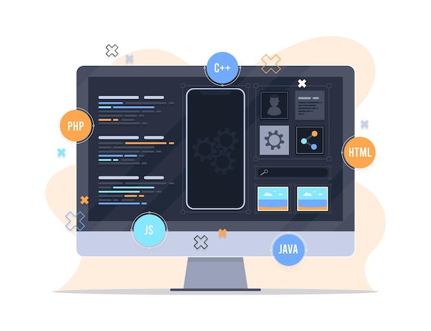 앱 개발 컨셉 디자인