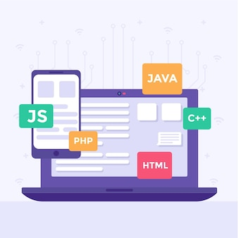 App development illustration