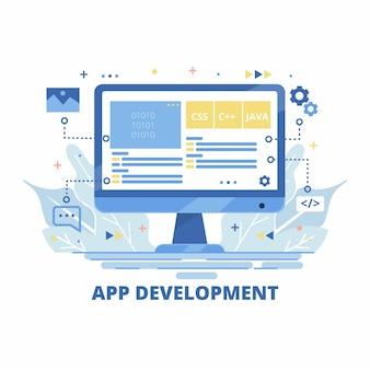 App development and monitor