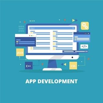 App development with various open tasks