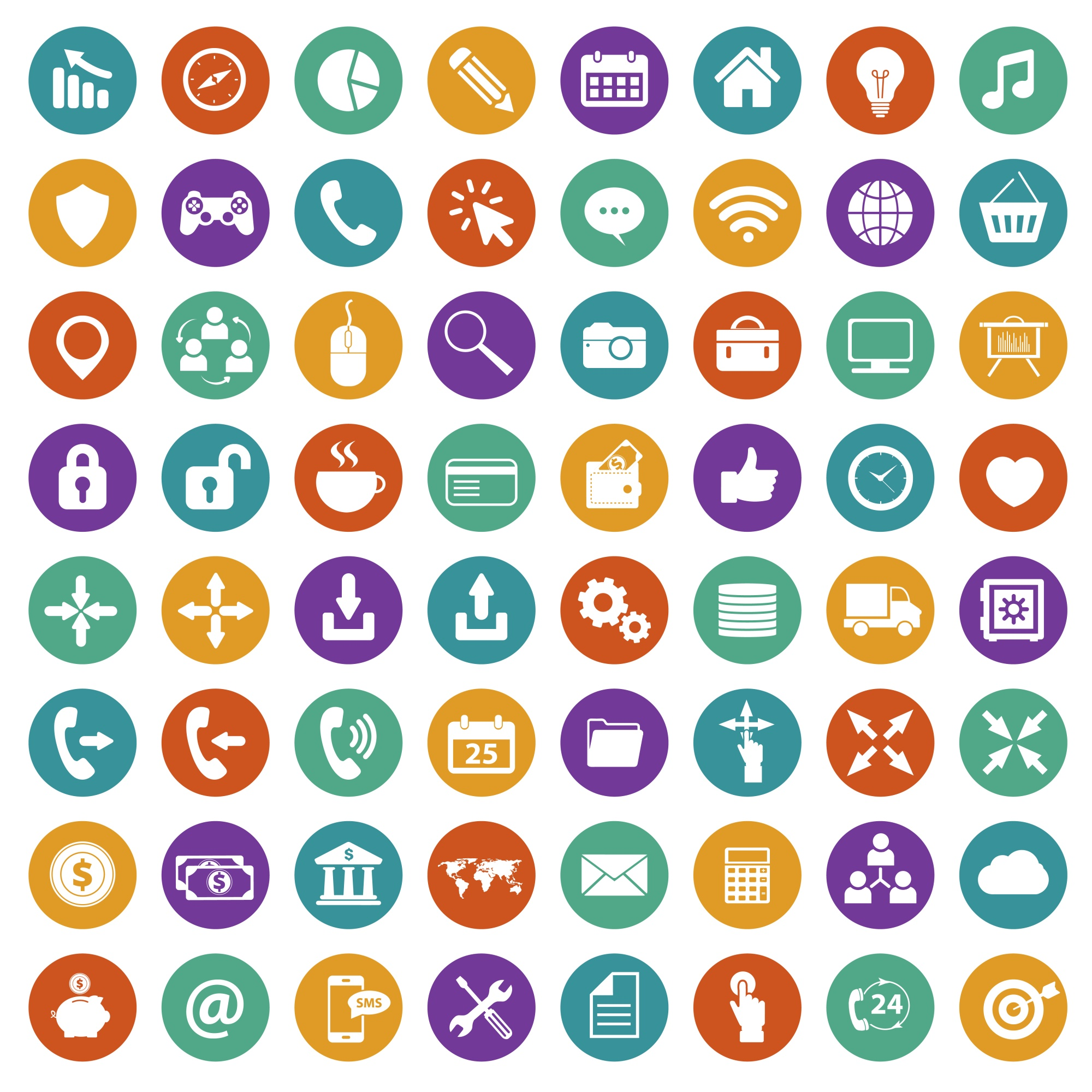 icons vectors 251200 free files in ai eps format
