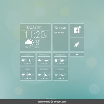 App weather elements