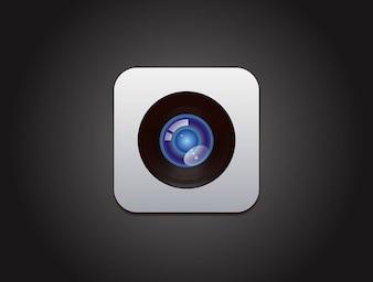 Apple camera design vector