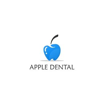 Логотип apple dental