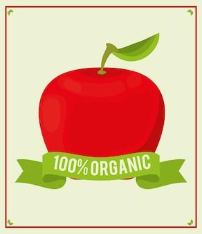Apple food 100 organic nutrition