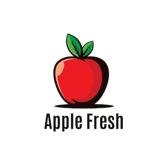 Apple fresh logo illustration