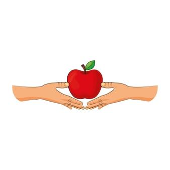 Яблочный фрукт