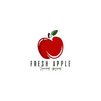 Логотип apple fruit