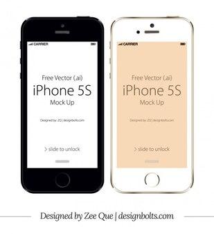 Apple iPhone 5S mockup
