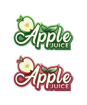 Apple juice logo
