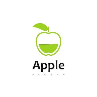 사과 주스 로고