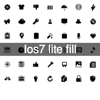 Apple lite fill icons