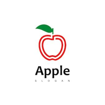 애플 로고 디자인 벡터