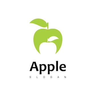 Apple logo design vector
