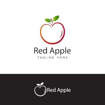 Apple logo template design