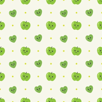 사과 원활한 패턴