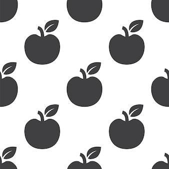 Apple, вектор бесшовные модели, редактируемые можно использовать для фона веб-страниц, узорные заливки