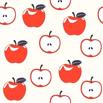 Apple, бесшовный фон