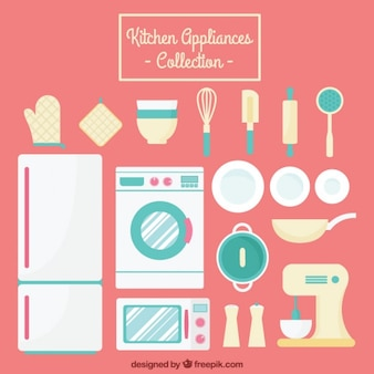 Appliances and kitchen tools collection