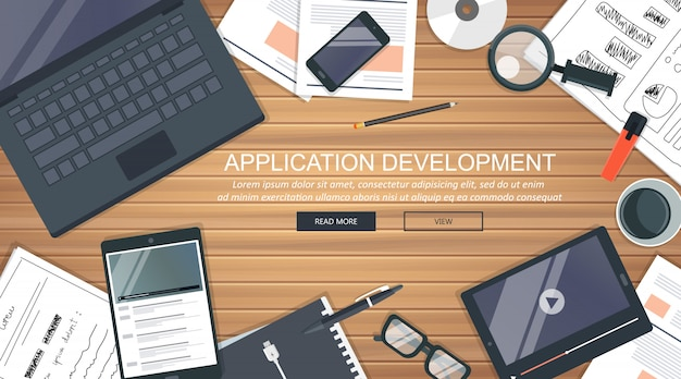 Application development concept