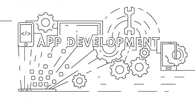Application development concept