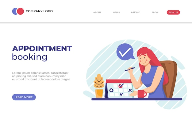 Appointment booking design