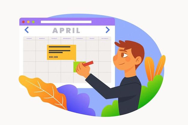 Appointment booking with calendar