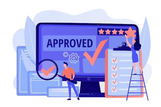Approval mark. product advantage. rating and reviews. meeting requirements